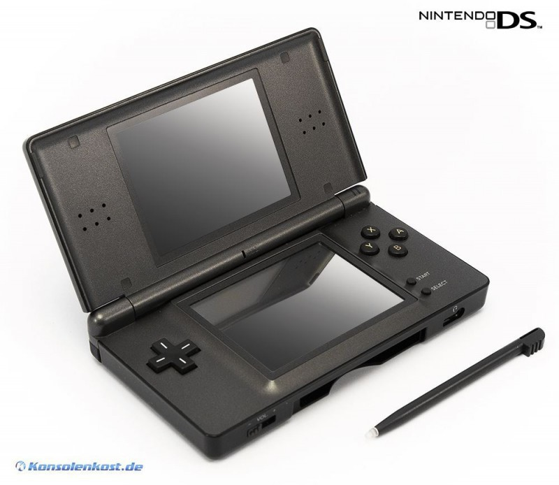 Konsole Lite #schwarz Pokemon Pearl & Diamant Limited Edition