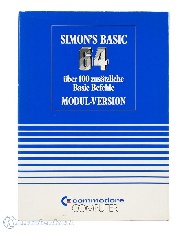 Simon's Basic 64 - Modul-Version