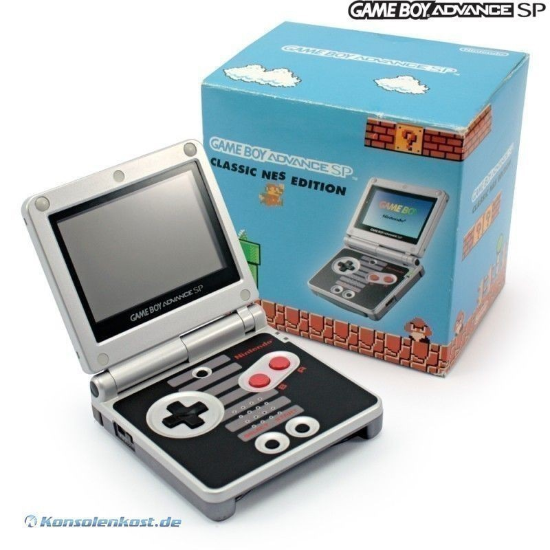 Gameboy Advance Konsole Gba Sp Classic Nes Edition