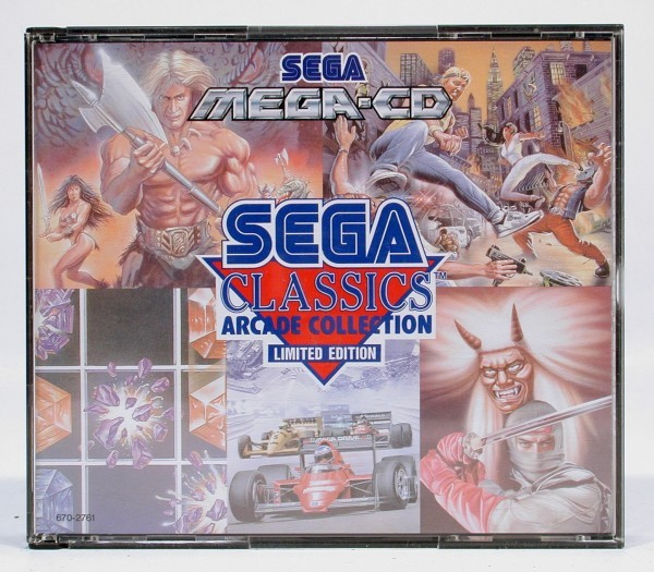 SEGA Classics Arcade Collection 5 in 1 (sehr guter Zustand)