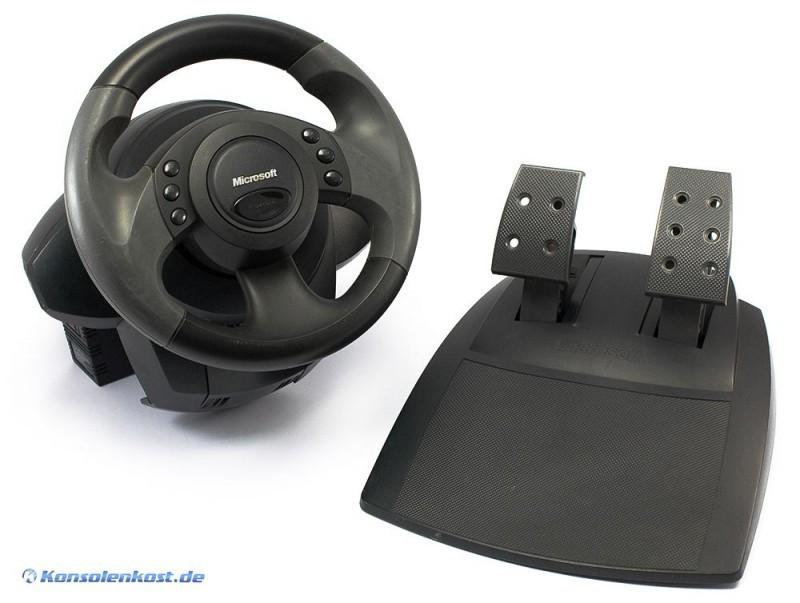 Pc Sidewinder Force Feedback Wheel Amp Pedale Usb