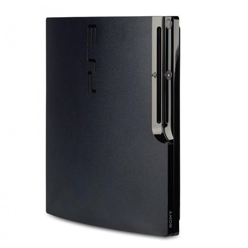ps3 konsole slim 80 gb inkl original controller. Black Bedroom Furniture Sets. Home Design Ideas