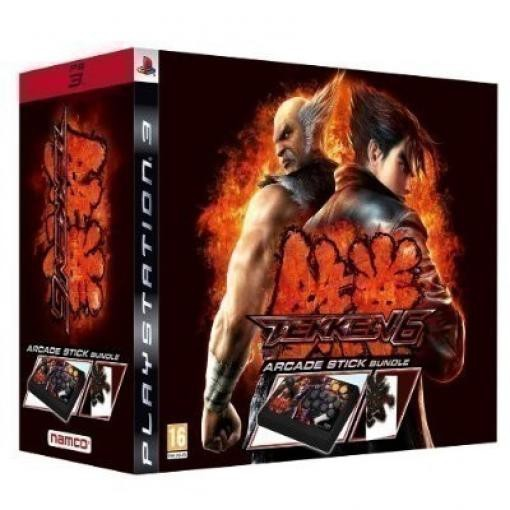 Tekken 6 Wireless Arcade Stick + Spiel & Artbook