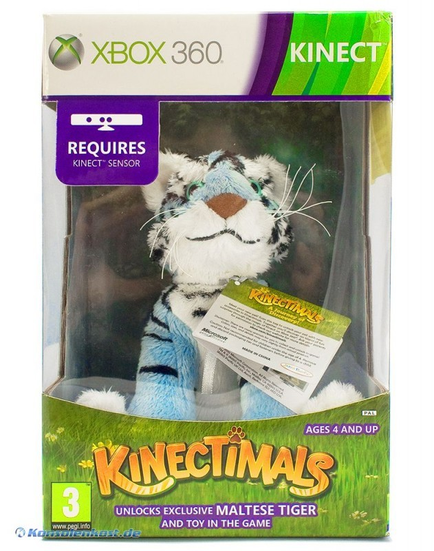 Kinect Kinectimals S.E. Maltese Tiger