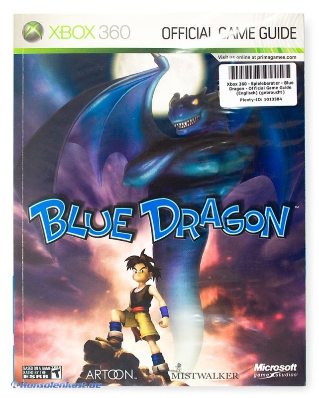 Spieleberater - Blue Dragon - Official Game Guide