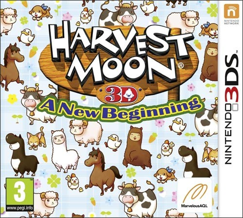 Nintendo 3DS - Harvest Moon: New Beginning