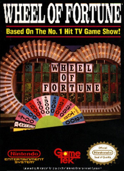 nes wheel of fortune us import modul gebraucht. Black Bedroom Furniture Sets. Home Design Ideas