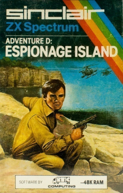 Adventure D: Espionage Island