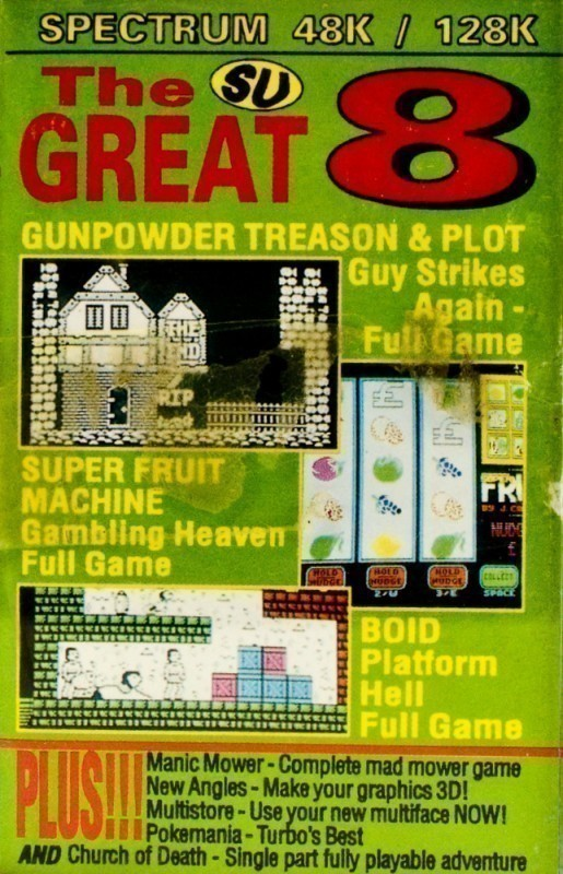 The Great 8 Nov 92