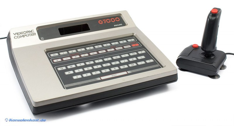 Philips G7000 Videopac Computer + Controller