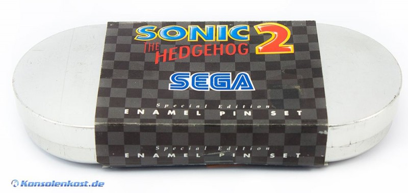 Sonic 2 Special Edition Enamel Pin Set