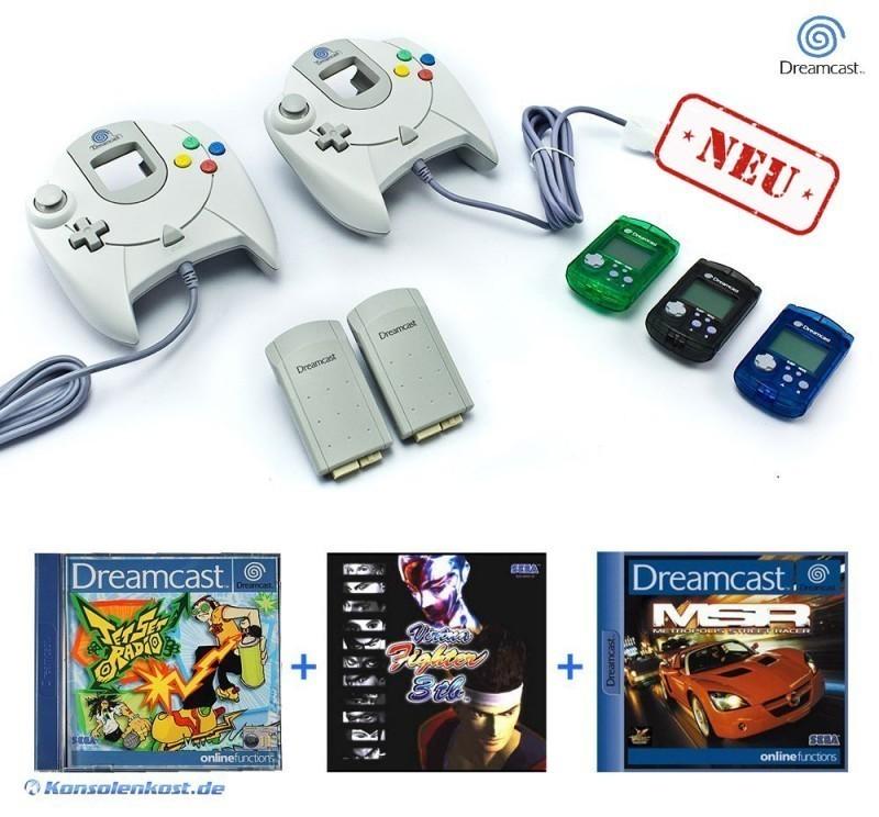Dreamcast-2-Controller-2-Vibration-3-VMU