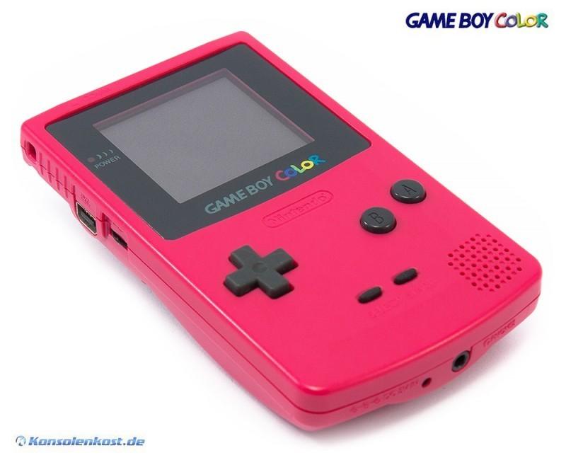 Pink Gameboy Color