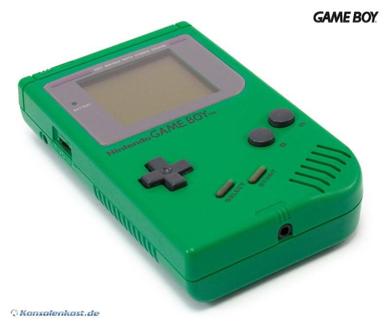 gameboy konsole gr n doc frog sehr guter zustand gebraucht gameboy classic konsolen. Black Bedroom Furniture Sets. Home Design Ideas