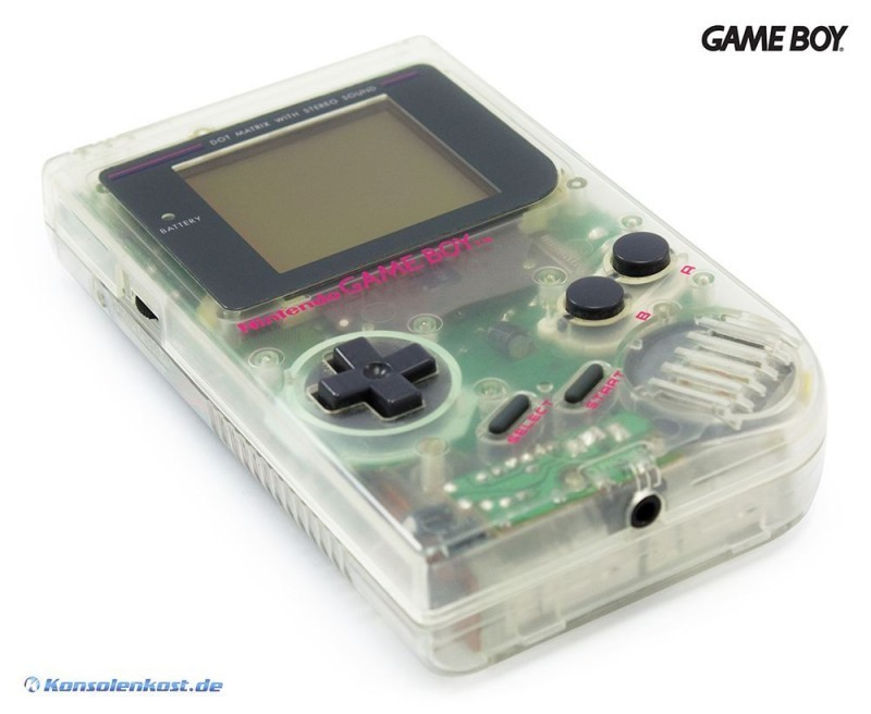 GameBoy - Konsole #transparent - Hip Boy (sehr guter Zustand ...Xbox One Transparent
