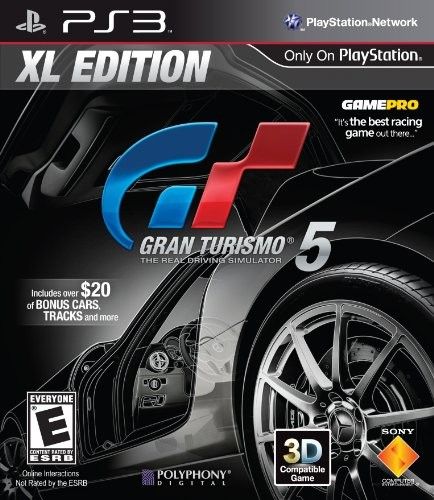ps3 gran turismo 5 xl edition playstation 3 ps3. Black Bedroom Furniture Sets. Home Design Ideas
