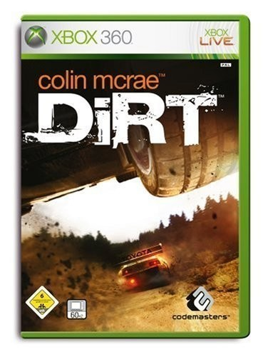 xbox 360 colin mcrae dirt mit ovp gebraucht xbox. Black Bedroom Furniture Sets. Home Design Ideas