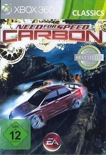 xbox 360 need for speed carbon mit ovp gebraucht. Black Bedroom Furniture Sets. Home Design Ideas