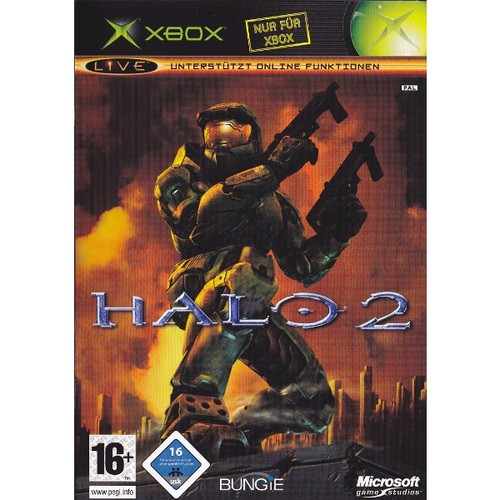 xbox halo 2 mit ovp gebraucht xbox spiele action. Black Bedroom Furniture Sets. Home Design Ideas