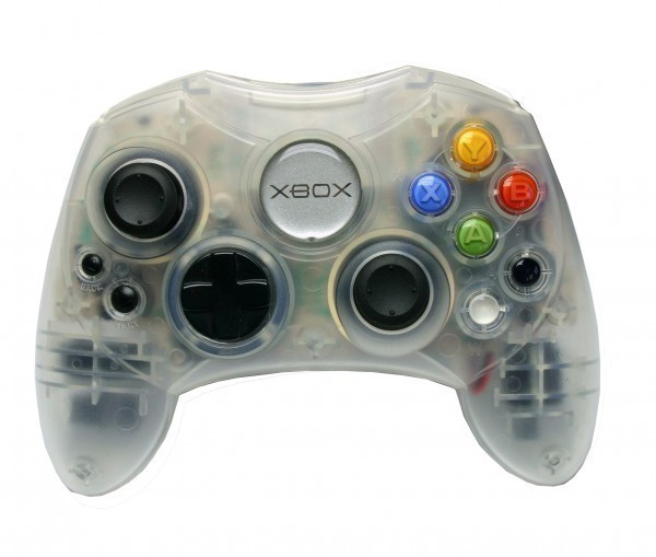 xbox original controller s crystal microsoft. Black Bedroom Furniture Sets. Home Design Ideas
