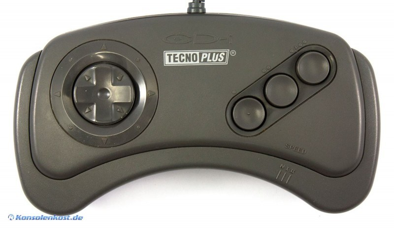 Philips CD-i Controller (TP520) (mit 3 Speed Settings) #grau [TecnoPlus]