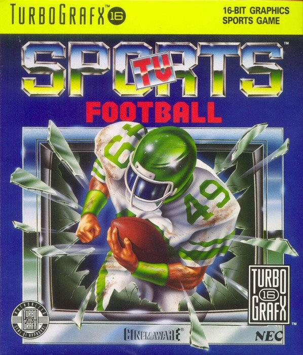 PC Engine / TurboGrafX 16 - TV Sports Football ...