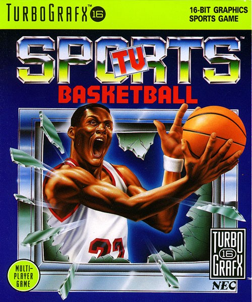 Turbografx - Sports TV Basketball