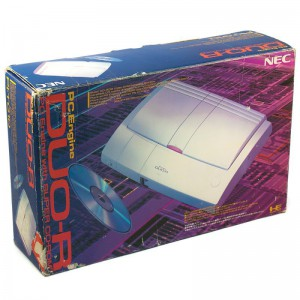 Konsole PC Engine Duo R + Orig Controller + Zub