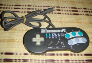 Controller / Pad Fighting Commander PC #schwarz [Hori]